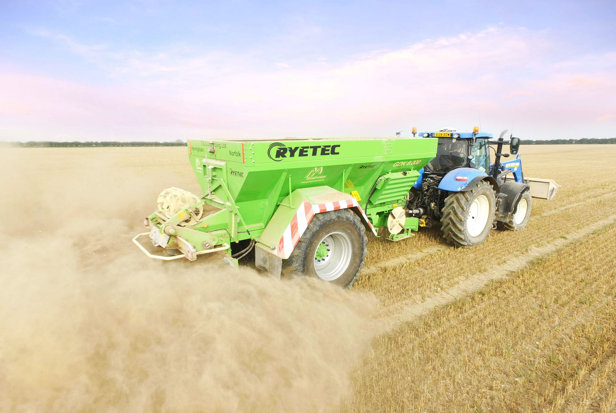 Ryetec Fertiliser Spreaders