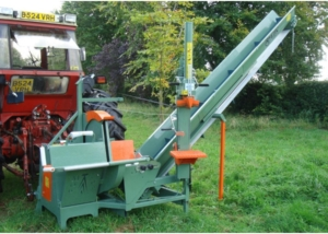 Ryetec Contractor Combi firewood log processing stations