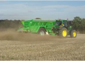 Gustrower High Capacity Fertiliser and Lime spreader