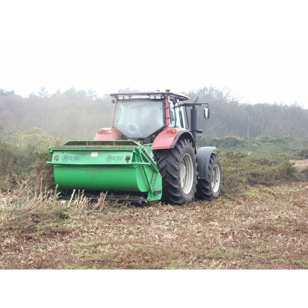 Contractor Flail Mower Collector - Ryetec Industrial