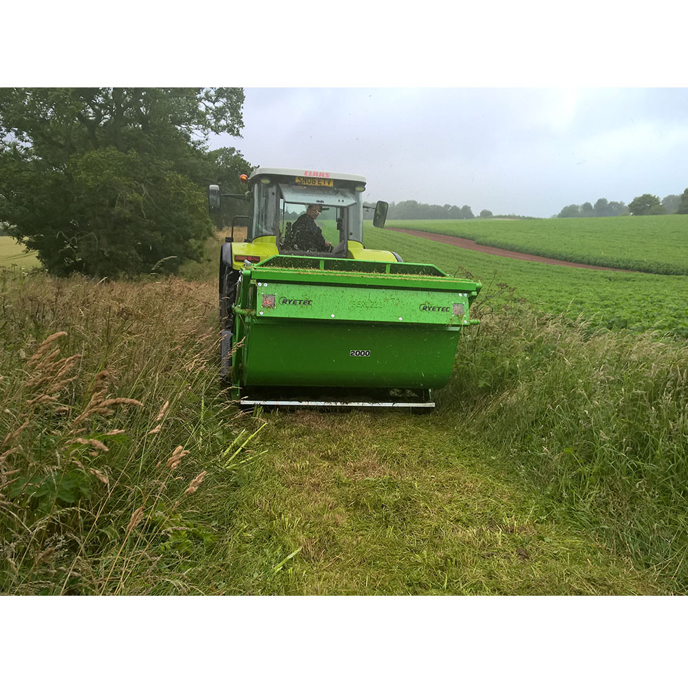 Contractor Flail Mower Collector - Ryetec Industrial Equipment Limited