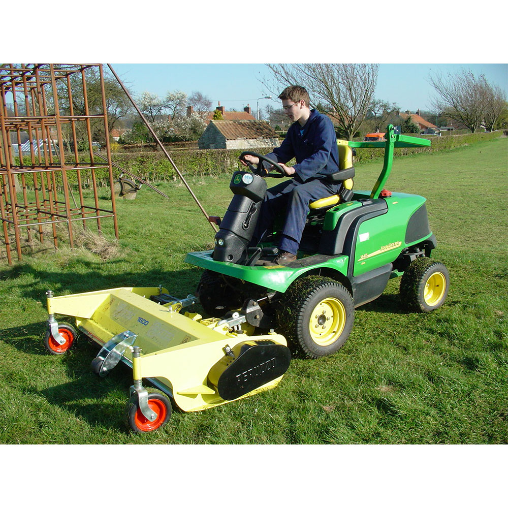 Professional Front Mounted Flail Mower - Ryetec Industrial