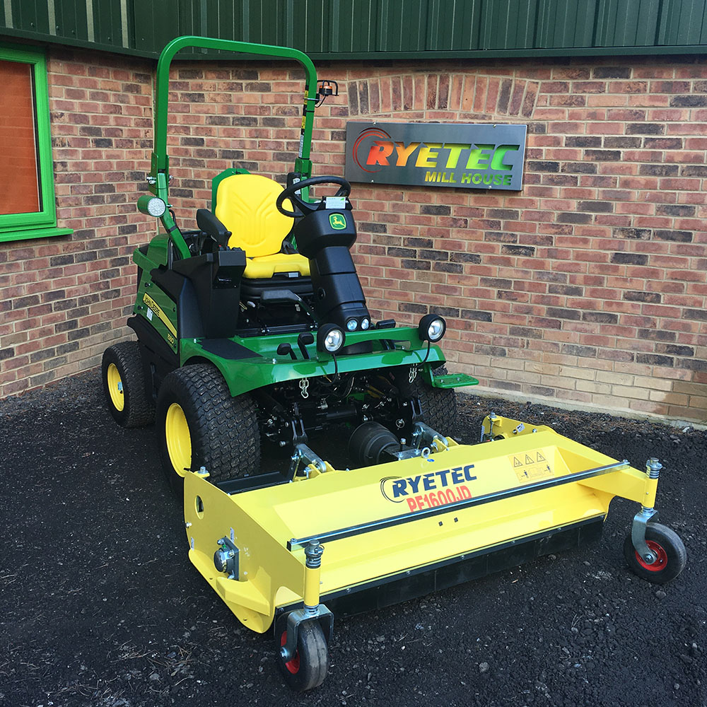 Professional Front Mounted Flail Mower - Ryetec Industrial Equipment