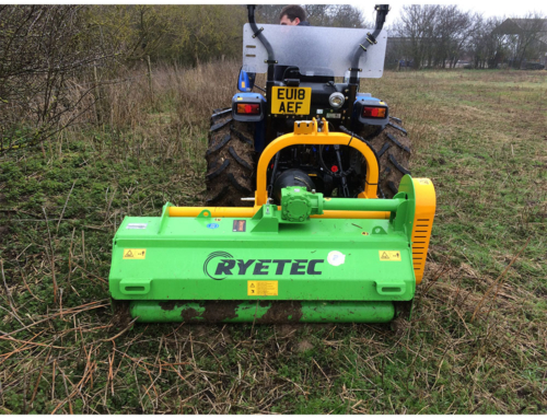 Contractor Mini Rear/Front Mounted Flail Mowers