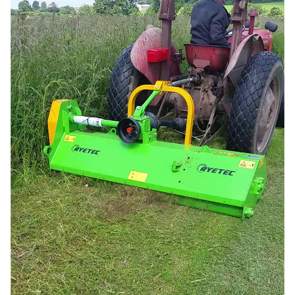 Contractor Mini Rear/Front Mounted Flail Mowers - Ryetec