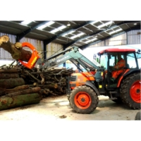 High capacity timber grab Klaw