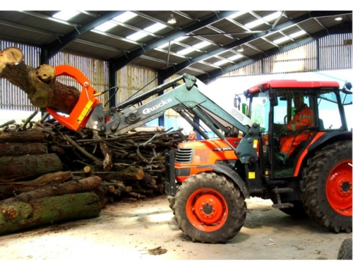 Klaw Timber Firewood Handling Forestry Loading Grapple For Loaders And Telehandlers