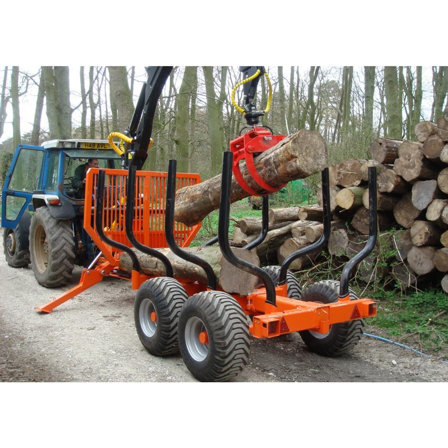 KTS Forestry Timber Trailers Cranes & Grapples - Ryetec