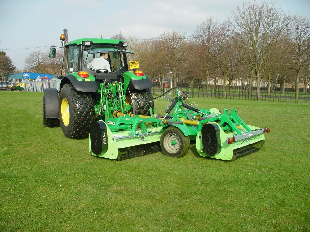 Triflex Gang Flail Mower - Ryetec Industrial Equipment Limited
